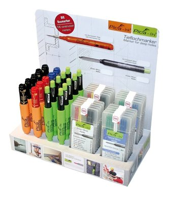 Pica-marker mix display