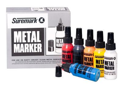 metaal marker geel Suremark