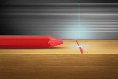 Lyra fluor krijt 794 luminiscerend voor optisch aflezen van ongedroogd hout