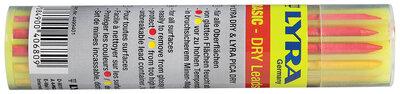 rode, gele en grafiet basis mix navul potloodstiftjes voor lyra dry bouwmarker