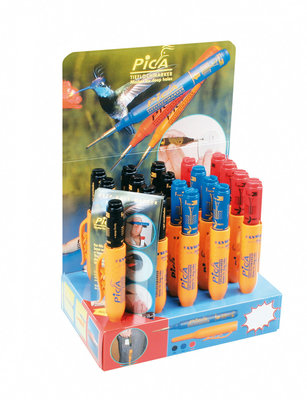 Pica Ink marker display 10 zw + 5 rd + 5 bl