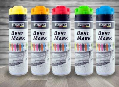 Markeerverf spuitbus fluor kleuren