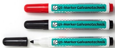 Galvano marker 4 kleuren beschikbaar