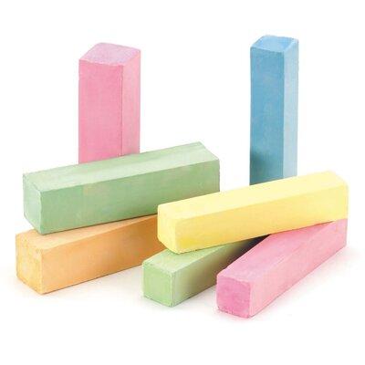 Industrie/ Blok krijt 100x25x25mm kleur (96 st)
